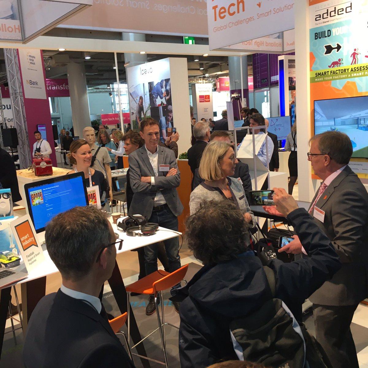 Visit Northern Netherlands, Region of Smart Factories at the Hannover Messe, Hall 8 D34