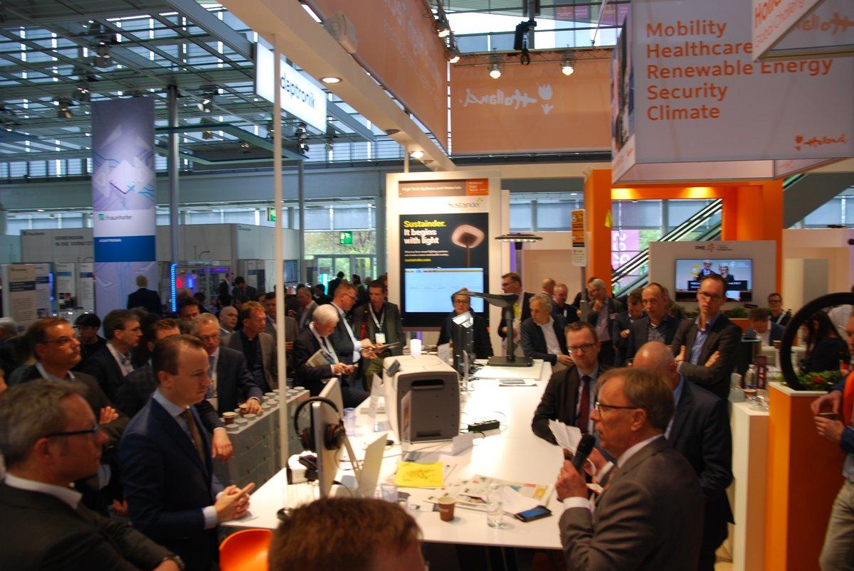 RoSF met 11 bedrijven op de Hannover Messe