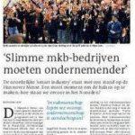 Artikel in DvhN over Noordelijke deelname Hannover Messe
