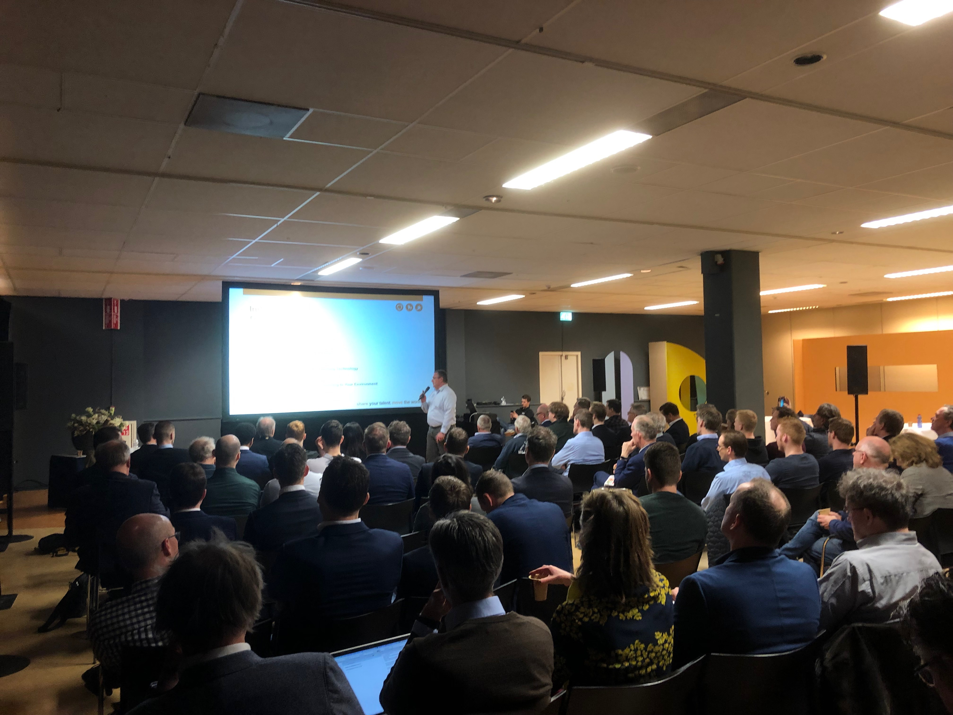 Succesvol RoSF-symposium tijdens Main Industry