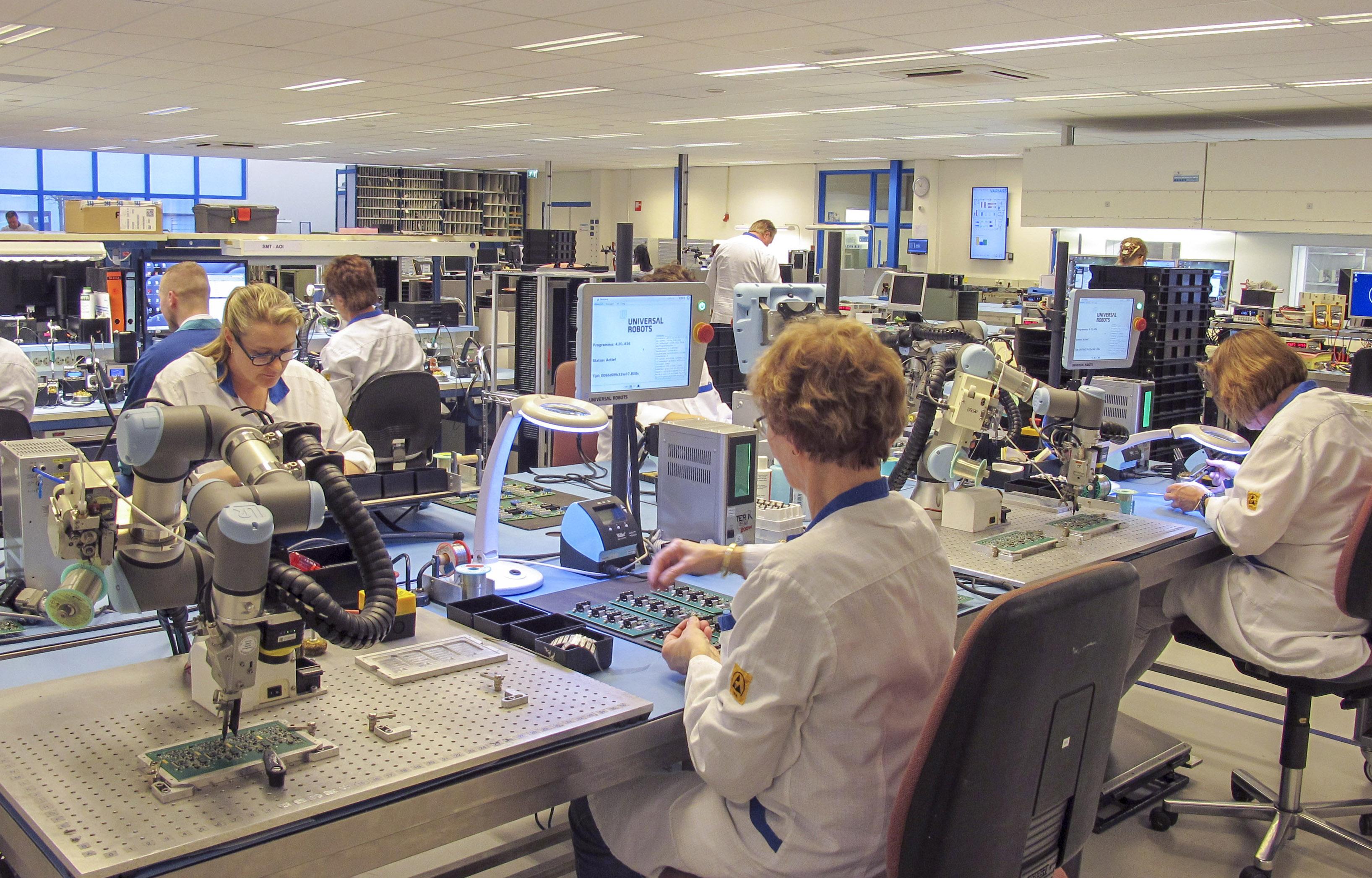 Resultaten van RoSF (dl 6). Variass accelereert naar een echte Smart Factory
