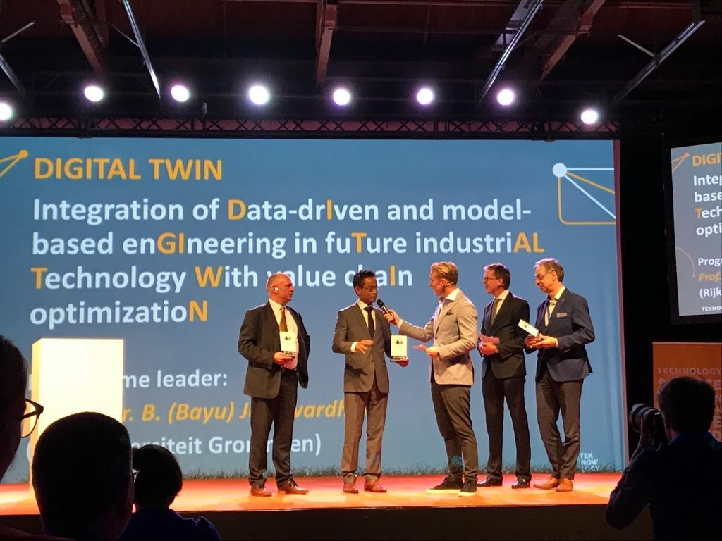 RoSF wordt proeftuin voor nationale Digital Twin project